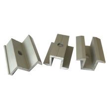 Abrazadera de extremo para sistemas de montaje solar de aluminio de 30 mm de espesor