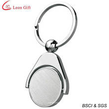 Wholesale Rotatable Metal Coin Keychain (LM1668)