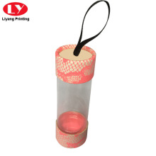 Round Transparent Clear Cylinder Packaging Tube Box