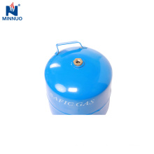 Dominica 3kg portable lpg gas tank for camping
