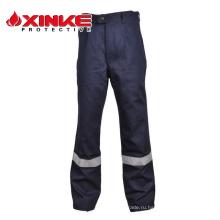 хлопка огнестойкие брюки для работы человека