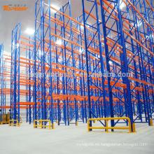 Estante de plataforma de almacenamiento de almacén de acero resistente para cable