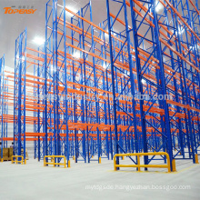 Heavy duty steel warehouse storage pallet rack for cable