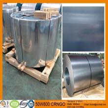 Não-transformador de grão orientado aço silício