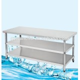 Assembly Stainless Steel Three Tier Kitchen Bench