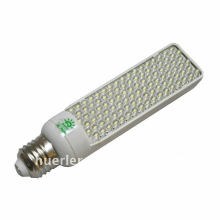 e26 b22 E27 G24 5w led light pl 220v 65leds 102led