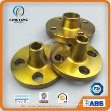 Flange de aço carbono ASME B16.5 flange forjada wn com ce (kt0407)