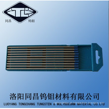 Eléctrodos de tungsténio volfrâmio com azul codificado Dia4.0mm