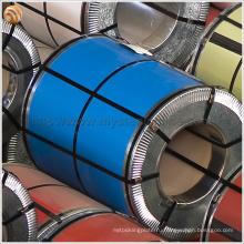 Цинковая металлическая черепица Используется PPGI оцинкованная сталь с пленкой ПВХ