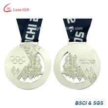 Пользовательские Спортивная медальон Серебряная медаль