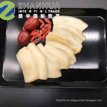 Rebanada de abulón preparada rodajas de calamar precio de fábrica de alimentos cocidos con salsa
