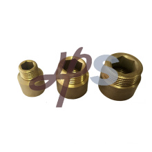 China factory high technology brass forged extension pipe fitting