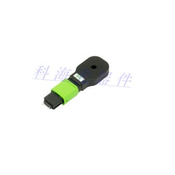 Bouclages optiques de fibre de MPO pour la transmission de données