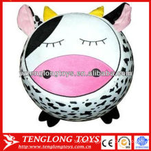 Popular cute inflatable cartoon stool cow shape animal inflatable stool