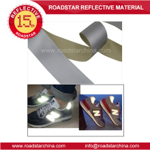 0.6mm thickness reflective PVC foam leather for bag