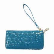 New Arrival Fashionable/Stylish PU Women's Wallet Purses, Customized Designs Available Lady Handbag