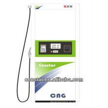 GNV gás enchimento distribuidor do combustível para a estação de abastecimento de GNV