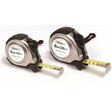 OEM de medição revestido de nylon de Forgemax da caixa de fita do metal da medida S / S