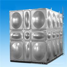 Modularer hochfester Edelstahl-Leichtbau oben Wassertank SUS304 Inox Wassertank