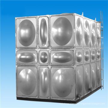 Модульная высокопрочные стальные облегченные Накладные расходы воды бак нержавеющей стали sus304 бака для воды