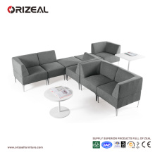Orizeal Modern Grey Fabric Sectional Modular Sofa (OZ-OSF019)