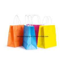 Paper Bag with Handle Shopping Bag Colored and Environmental Bag