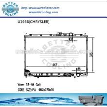 Kühler für CHRYSLER COLT 93-94 Hersteller Heißer Verkauf