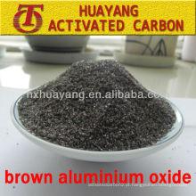 óxido de alumínio marrom de grau especial para jateamento abrasivo