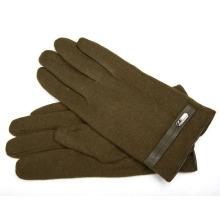 Men′s Fashion Wool Nylon Knitted Winter Warm Dress Gloves (YKY5435B-2)