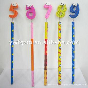 мультфильм цифры карандаш для промотирования
