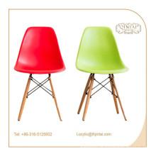 Stil Kunststoff Buche Massivholz Beine Wohnzimmer Freizeit Stuhl