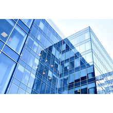 Frameless Insulated Glass Curtain Wall for Building