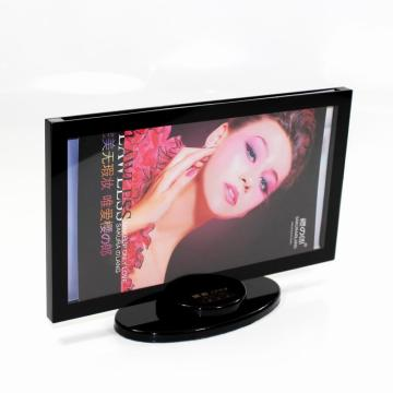 Czarny akryl Stand Up Picture Frames
