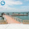 walking Dock Floating Pontoon Platforms plastic pontoons