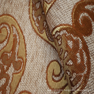 Classical Pattern Jacquard Chenille Upholstery Fabric