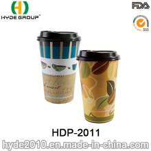 Printed Double Wall Coffee Paper Cup for Coffee and Tea