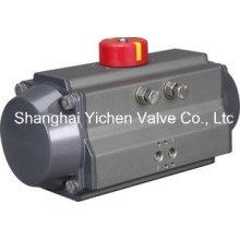 Atuador de alumínio pneumático de retorno por mola (YCATS)