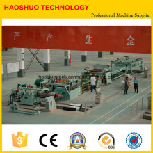 Auto-Stacking Steel Leveling and Cutting Line