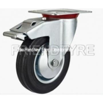 Industrial Castor Series Rubber Swivel Ca