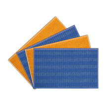 Microfiber Knitted Checked Cloth