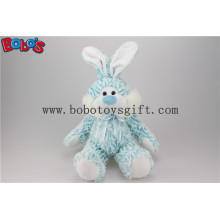 "10""Blue Stuffed Rabbit Animal Toy with Blue Ribbonbos1142"