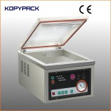 stainless steel one chamber acrylic lid vacuum packing machine