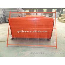 Vente en gros 6 X10 pieds galvanisé canada panneau de clôture temporaire / clôture de construction vente chaude