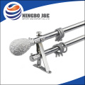 Metal Curtain Pipes With Resin Curtain Finial
