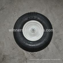 Rueda inflable de la rueda del movimiento del césped 13x4.00-6 tubeless