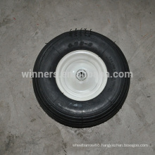 13x4.00-6 tubeless lawn mover wheel inflatable wheel