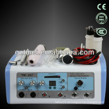 5 en 1 limpieza facial ultrasónica y aspiración facial máquina multifunción