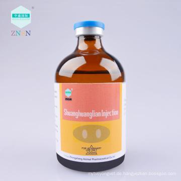 Shuanghuanglian Injektion, Hitze und Entgiftung, hydrophobe Dekompression