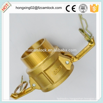 Camlock Brass type B, cam lock fittings, quick coupling China manufacture