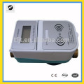 3.6V RFID prepaid control meter for hot water and cold water with IC card
